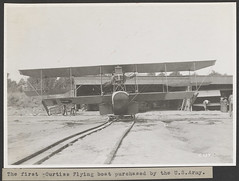 The first Curtiss Flying boat purchased by the U.S. Army