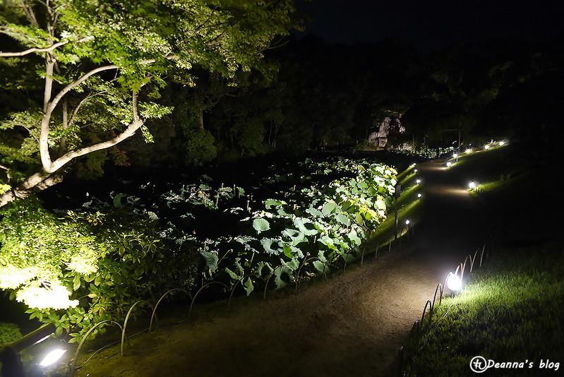 岡山後樂園幻想庭園