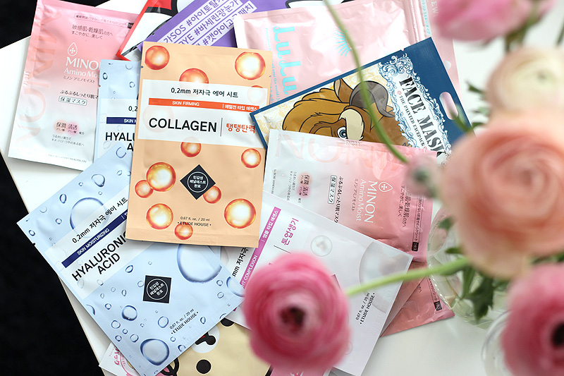 Japan Sheet Mask Haul 1