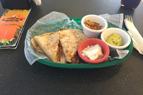 32 - Chicken Quesadilla - Mango's Village - Puerto Plata Airport