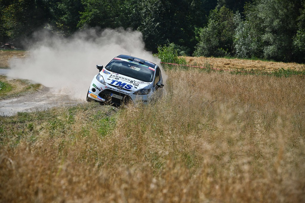 39 BROZ Dominik (CZE) TESINSKY Petr (CZE) Peugeot 208 R2 action during the 2017 European Rally Championship Rally Rzeszowski in Poland from August 4 to 6 - Photo Wilfried Marcon / DPPI