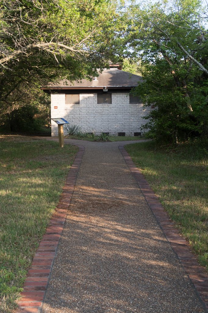 Exterior of Restrooms at First Landing State Park