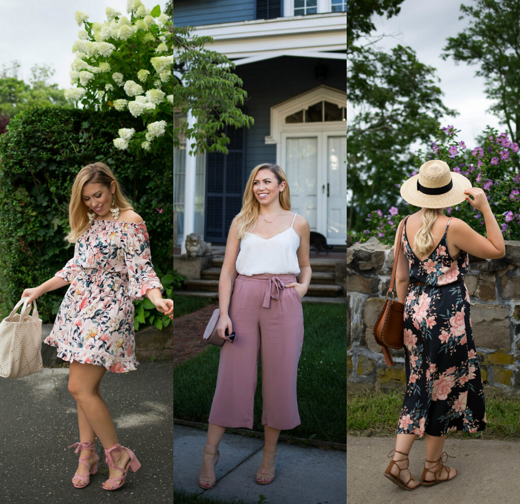 August Outfit Inspiration Pink Style Jackie Giardina Living After Midnite Blogger