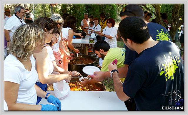#BriviescaFiestas17 Jira campestre, entierro de San Roquín, subida de Blusas y traca Fin de Fiestas (2)