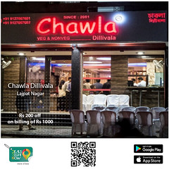 Chawla Chicken Dillivala - Rs 200 off on billing of Rs 1000