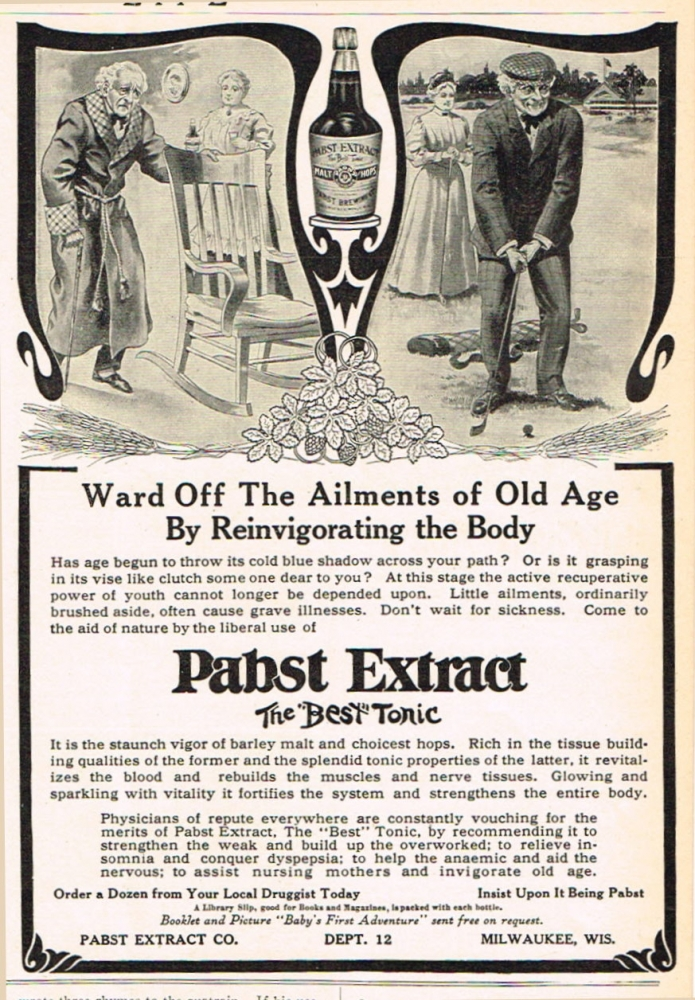 Pabst-brewing-1909-ailments