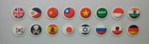 谁知道骷髅头代表的是哪个国家?这是图书馆自助借书机的大屏幕
