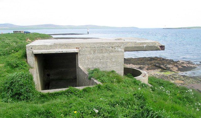 Reverse View  Links Battery, Second Gun Emplacement