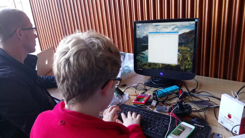 Raspberry Pi Jam at Exeter Library Saturday 5th August 201