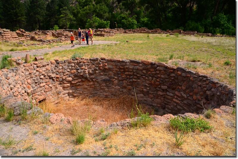 Kiva at Bandelier National Monument 3