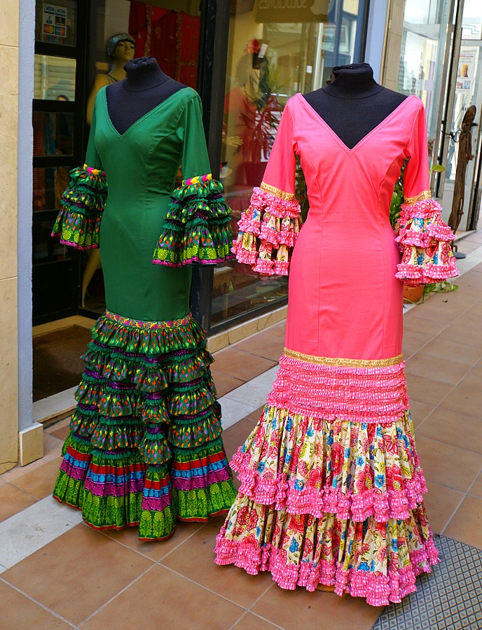 custom dresses for Santa Semana in Seville Spain