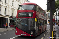Wrightbus NRM NBFL - LTZ 1180 - LT180 - Victoria 38 - Arriva - London 2017 - Steven Gray - IMG_1157