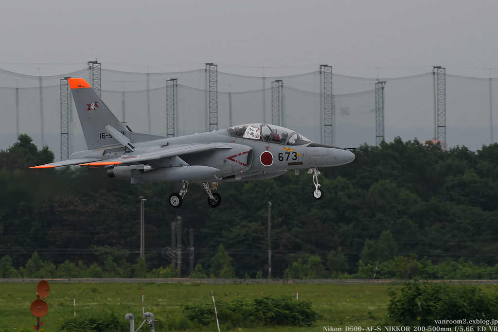 千歳基地航空祭2017 T-4