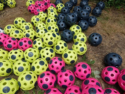 Balls in Backyard