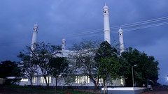 Darul Aman Juma Masjid night view