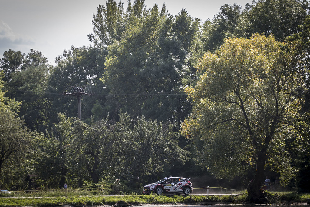 01 KAJETANOWICZ Kajetan (POL) BARAN Jarosław (POL) Ford Fiesta R5 action during the 2017 European Rally Championship ERC Barum rally,  from August 25 to 27, at Zlin, Czech Republic - Photo Gregory Lenormand / DPPI