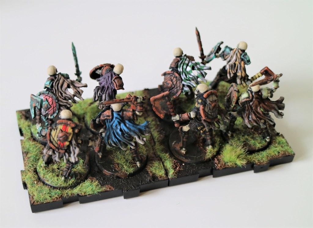 Runewars Miniatures Skeleton Infantry Back
