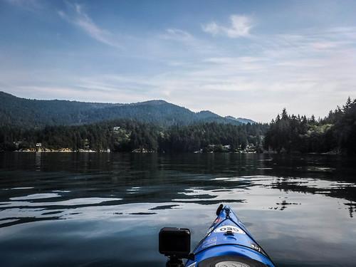 Kayaking Bellingham Bay-70