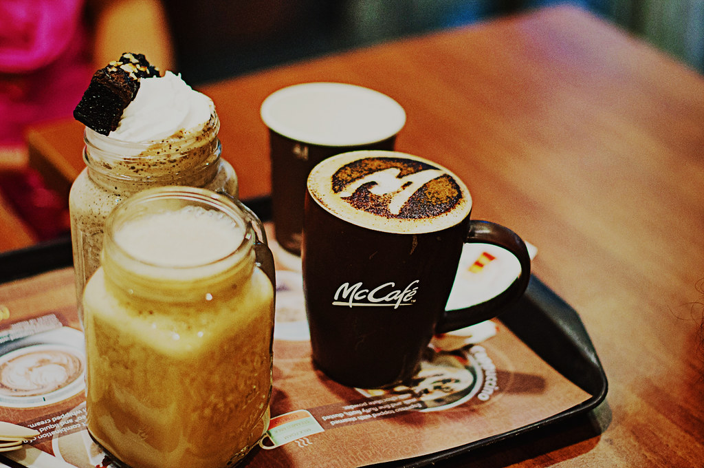 Day 170/365 - Coffee in Mc cafe