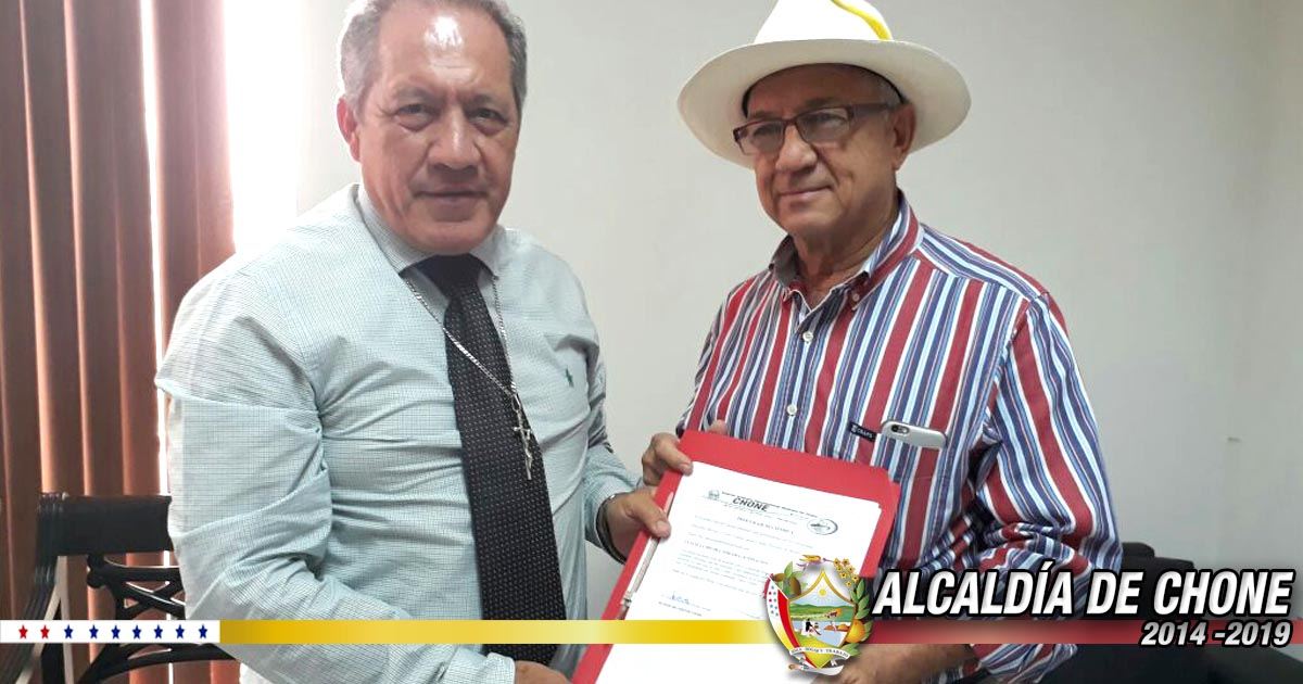 Alcalde firmó convenio interinstitucional