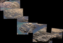 Thinly-Layered Rocks in Gale Crater, variant