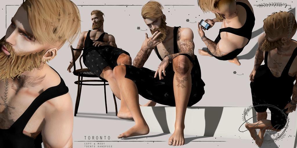 Ana Poses -Toronto - SecondLifeHub.com