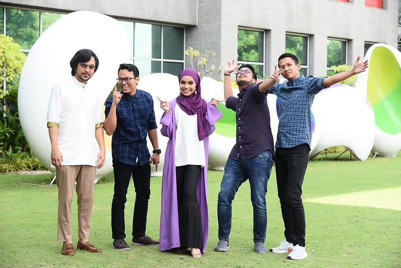 Barisan Penyampai Radio Baharu Astro Bakal Diserikan Dengan (Dari Kiri) - Mawi, Anas, Lin Ariffin, Raqib Dan Falyq