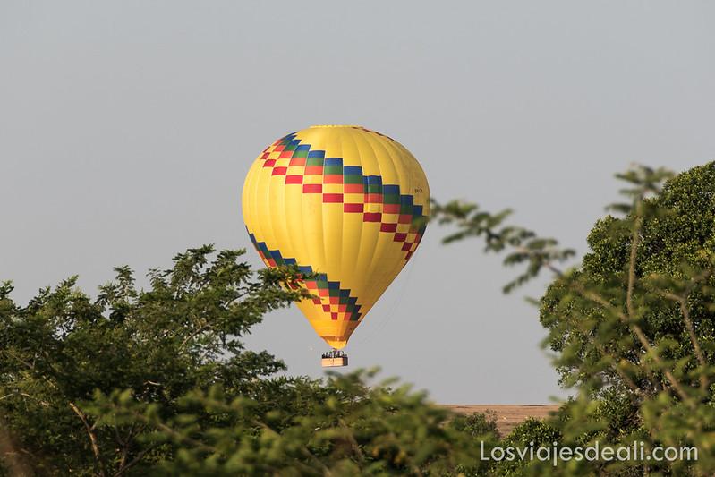 vuelo en globo dos días en Masai Mara