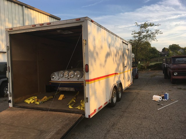 Best flooring for enclosed car hauler  Grassroots