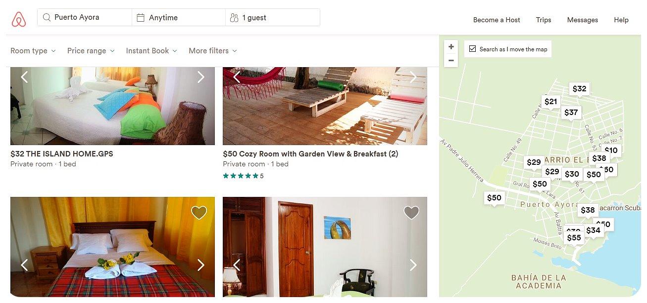 galapagos airbnb