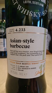 SMWS 4.233 - Asian-style barbecue