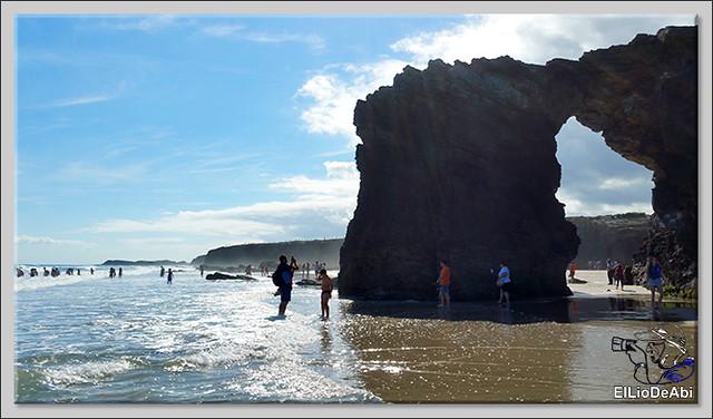 Paseo por la playa de las Catedrales  (5)