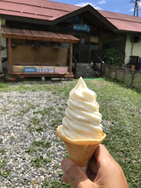 ヤギのミルクのソフトクリーム