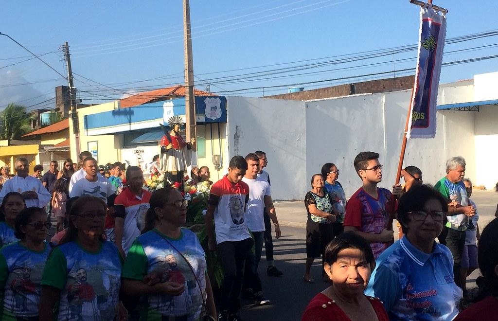 Procissão de abertura dos festejos de São Raimundo Nonato, Procissão de SR Nonato em Santarém