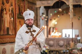 Литургия в Хутынском монастыре 350