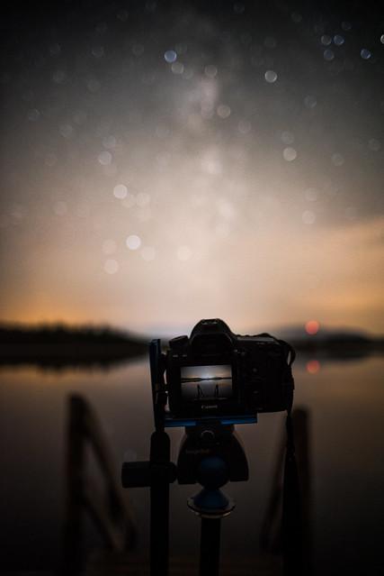 Milchstraßenbokeh, Nikon D750, Sigma 28mm F1.8 EX DG Aspherical Macro