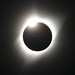 Diamond ring on total solar eclipse-8-21-17