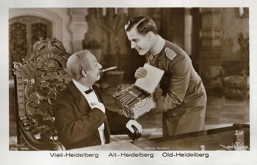 Ramon Novarro and Bobby Mack in The Student Prince in Old Heidelberg