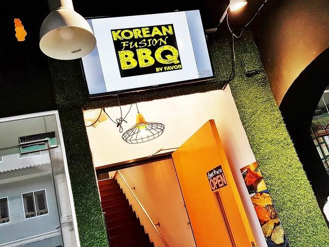 Korean Fusion BBQ Signage