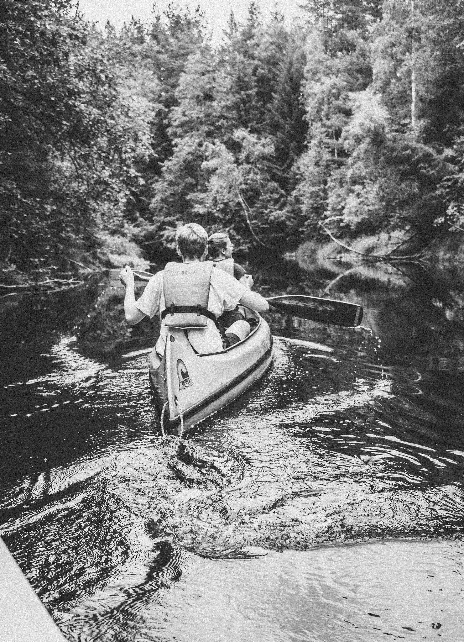 Paddla kanot - karinevelina.se