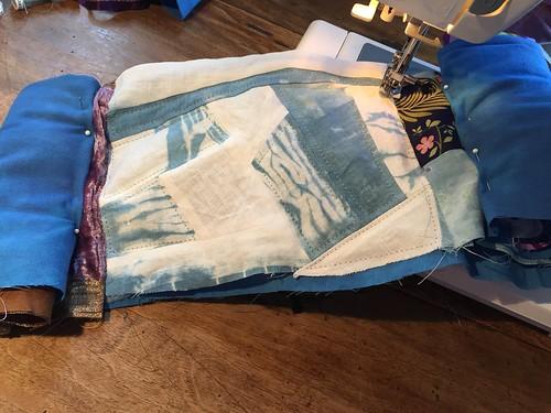 scrap quilt first quilt ever
