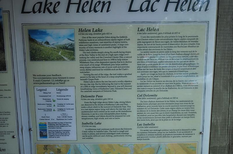 Lake Helen sign