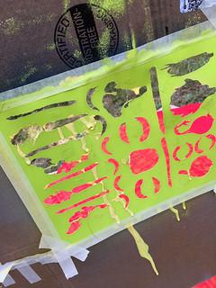 using leethal stencils