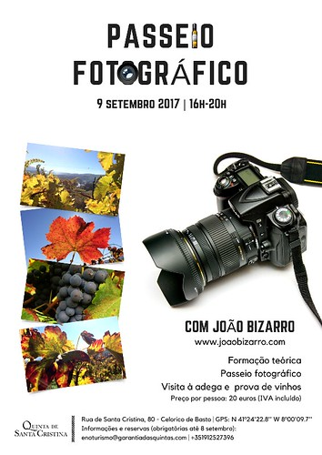 Cartaz passeio fotográfico_Quinta de Santa Cristina