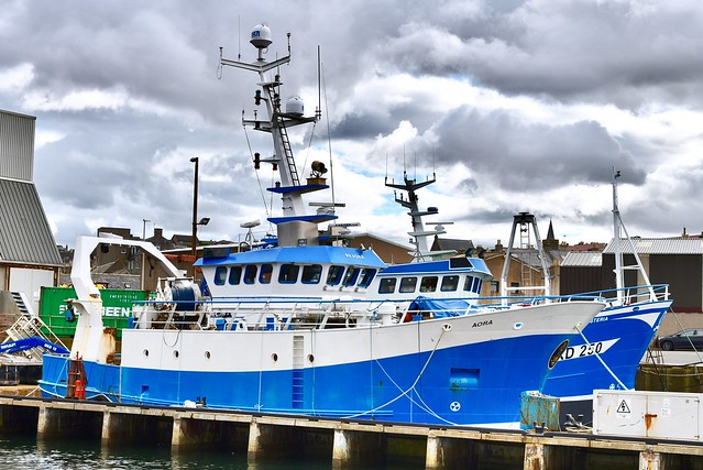 RV Aora - Macduff Harbour Scotland 6/9/17