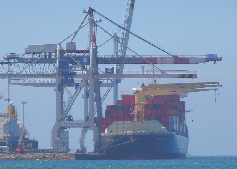 En el puerto de Marín