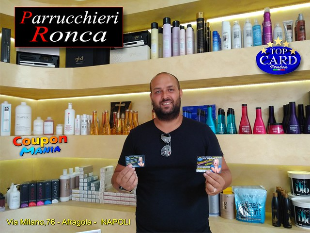 PARRUCCHIERI RONCA - Via Milano,76 - Afragola - NAPOLI