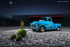 57 Bel Air + 55 Chevy 3100 - Shot 14