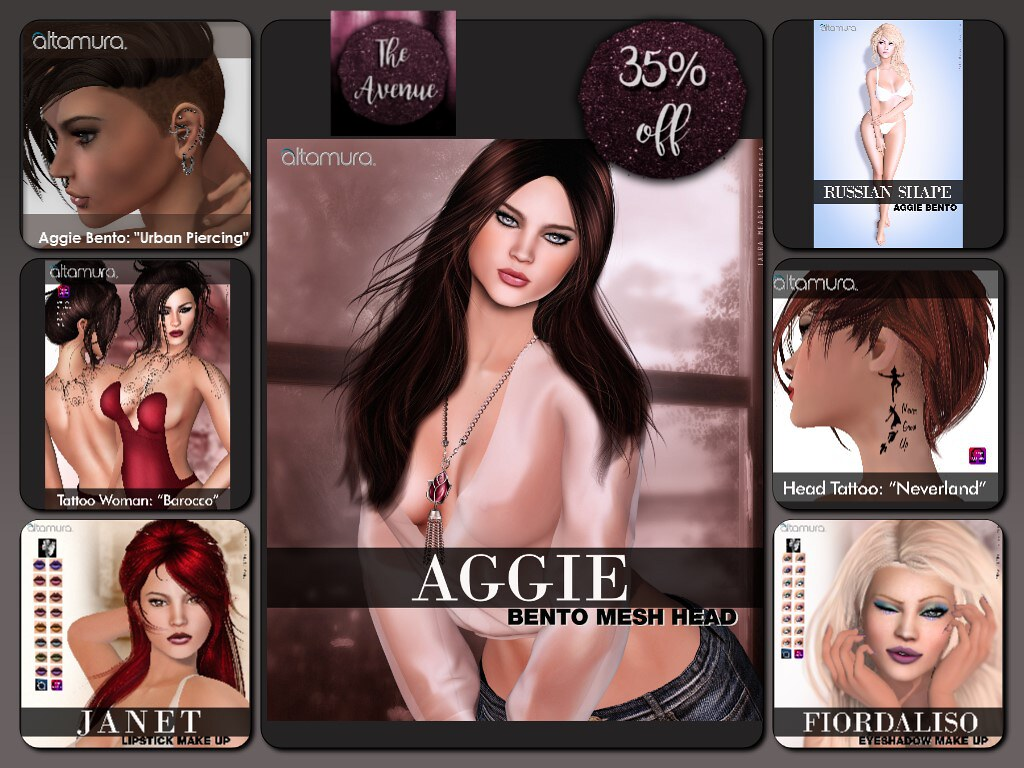 The Avenue September Round - all at 35% OFF!! - SecondLifeHub.com