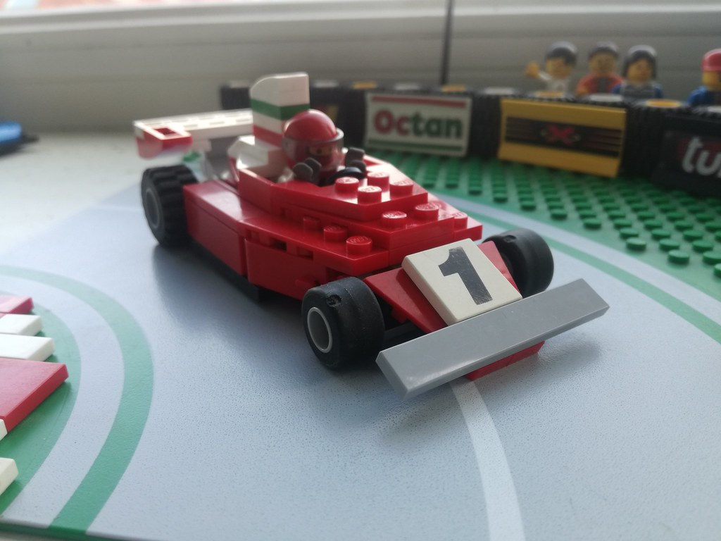 Historic F1 lego